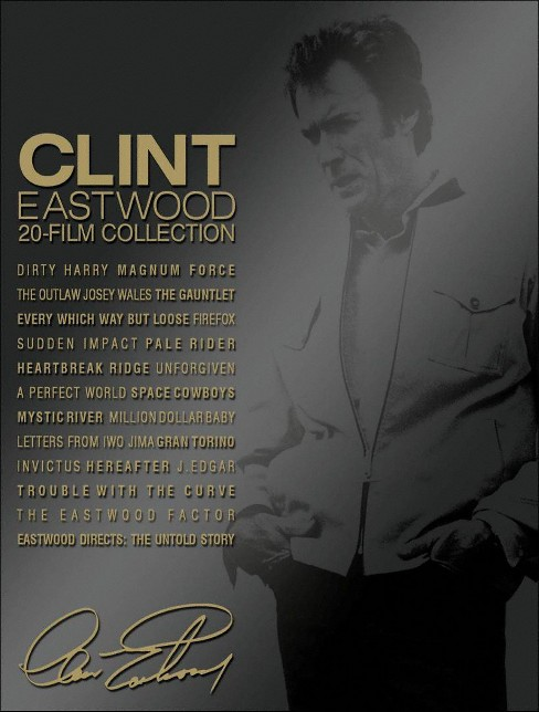 Clint eastwood collection 20 film col (Blu-ray) - image 1 of 1