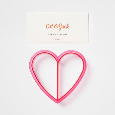 Sandwich Cutter Animal/Heart - Cat & Jack™