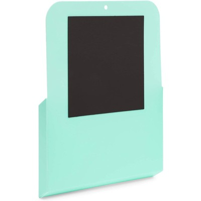 Okuna Outpost 2 Pack Magnetic Wall File for Organization (9.5 x 12.5 x 1.1 in, Teal)