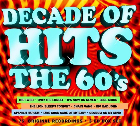 Various - Decade of hits:60s (CD) - image 1 of 1