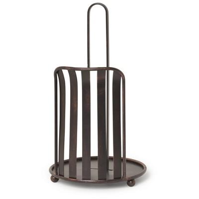 Spectrum Stripe Paper Towel Holder - Oil Rubbed Bronze - Spectrum Diversified Designs