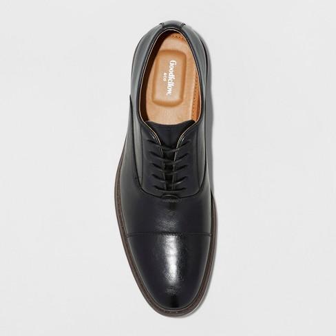 135b42ee63bf Men s Joseph Captoe Dress Shoe - Goodfellow   Co™ Black 8   Target