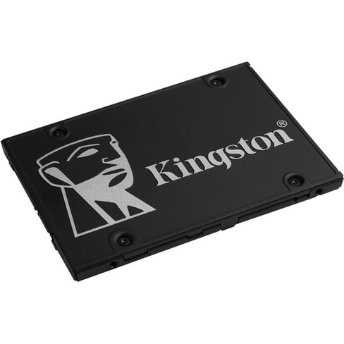 """Kingston KC600 1 TB Solid State Drive - 2.5"""" Internal - SATA (SATA/600) - Desktop PC, Notebook Device Supported - 600 TB TBW - image 1 of 4"""