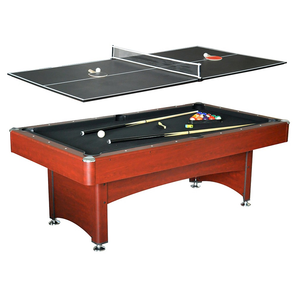 Hathaway Bristol 7 Feet Pool Table with Table Tennis Top, Multi-Colored