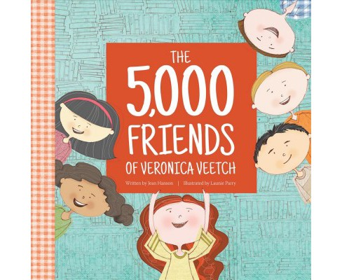 5,000 Friends of Veronica Veetch -  by Jean Hanson (Hardcover) - image 1 of 1