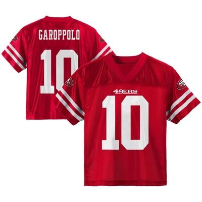 NFL San Francisco 49ers Toddler Boys' Jimmy Garoppolo Short Sleeve Jersey - 2T