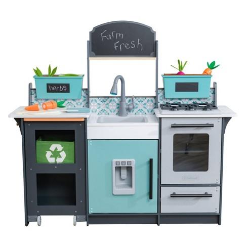 Kidkraft Garden Gourmet Play Kitchen Target
