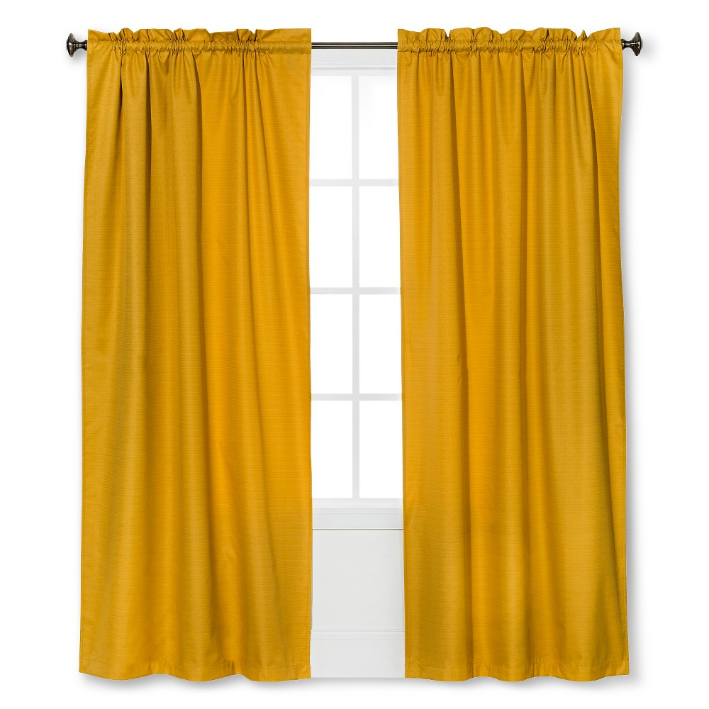 Braxton Thermaback Light Blocking Curtain Panel Yellow (42