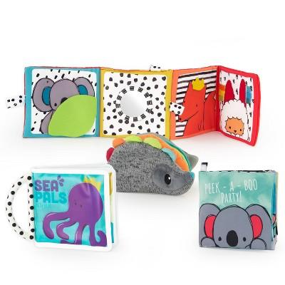 Sassy Toys Rookie Books Gift Set - 4pc