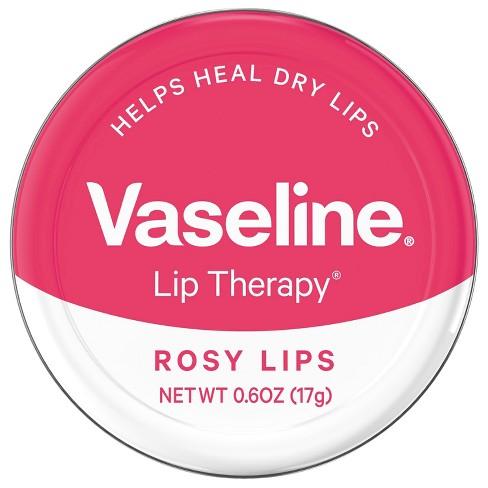 Vaseline Lip Therapy Rosy Lips Lip Balm Tin 0.6oz - image 1 of 4