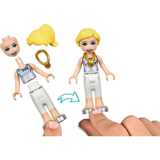 LEGO Friends Stephanie's Gymnastics Show 41372 Building Set with Gymnastics Toys 241pc image number null