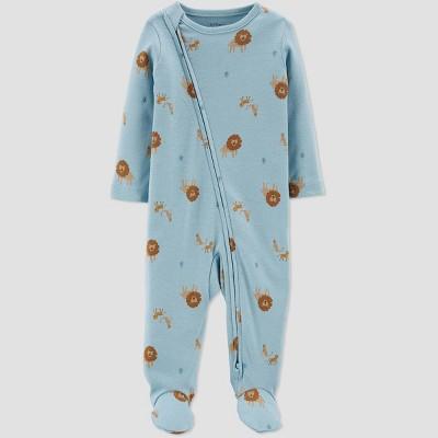 Baby Boys' Lion Sleep N' Play - little planet organic by carter's Sky Blue Newborn