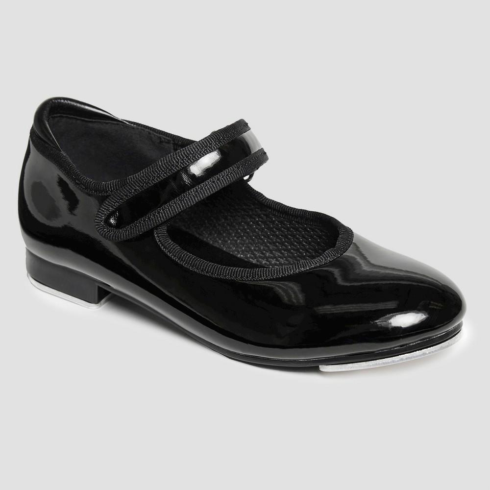 Freestyle by Danskin Girls' Dance Shoes - Black 12