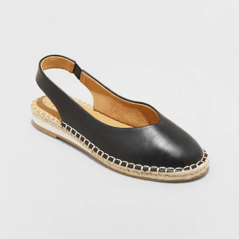 Women's Irene Slingback Espadrille Flats - A New Day™ - image 1 of 3
