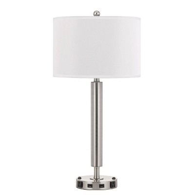 "30"" Metal Desk Lamp Chrome - Cal Lighting"