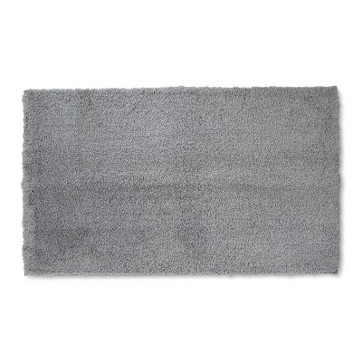 34 x20  Tufte Spa Bath Rug Gray - Fieldcrest®