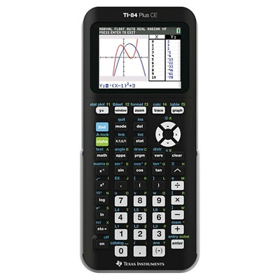 Texas Instruments 84+CE Graphing Calculator - Black