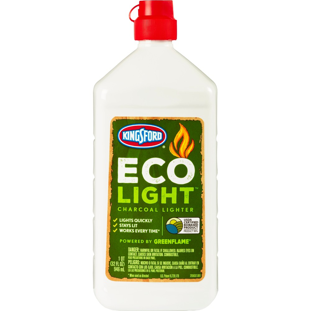 Image of Kingsford Eco Light Natural Charcoal Lighter Fluid - 32 fl oz