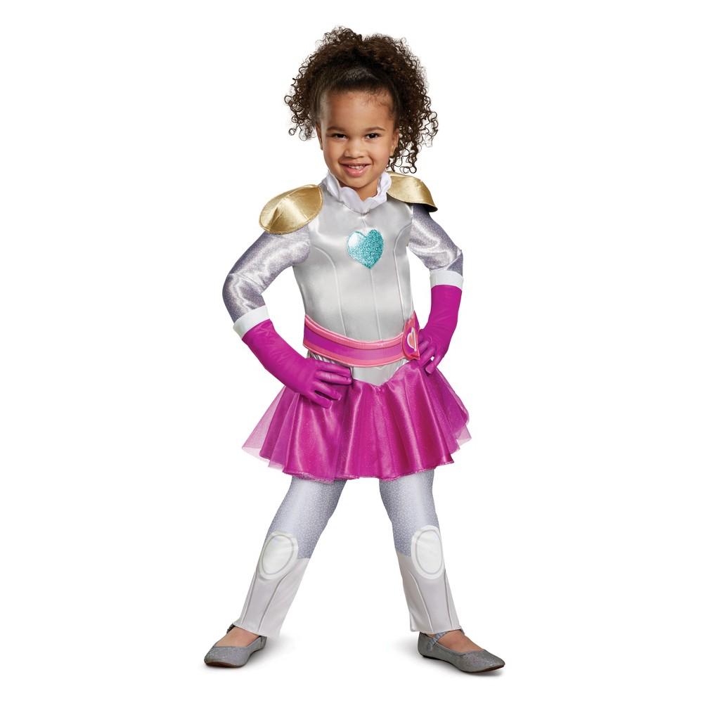 Girls' Nella the Princess Knight Exclusive Halloween Costume 3T-4T, Multi-Colored