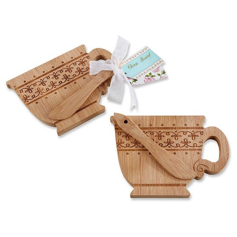 6ct Kate Aspen Tea Time Cheeseboard and Spreader - image 1 of 1