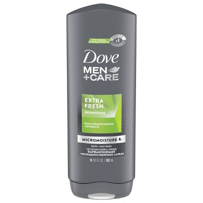 Dove Men+Care Extra Fresh Micro Moisture Cooling Body Wash - 18 fl oz