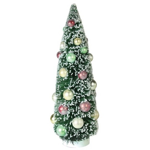 "Northlight 15"" Frosted Green Sisal Pine Artificial Christmas Table Top Tree - image 1 of 1"