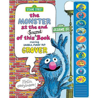 Sesame Street: The Monster at the End of This Sound Book - (Play-A-Sound) by Jon Stone (Hardcover)