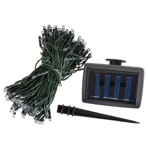 Pure Garden Solar 72' LED String Lights - 200 LED Lights - White - image 1 of 4