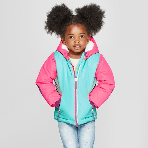 67daa6ef32f5 Toddler Girls  Softshell Jacket - Cat   Jack™ Pink   Target