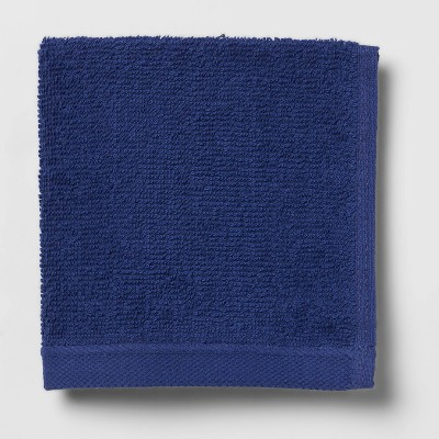 Everyday Solid Washcloth Bright Blue - Room Essentials™