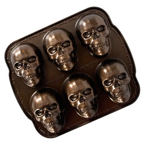Nordic Ware Haunted Skull Cakelet Pan - image 1 of 4