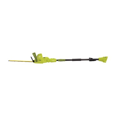 "3.1""H 4.5 Amps 120V Electric Pole Hedge Trimmer - Green - Sun Joe®"