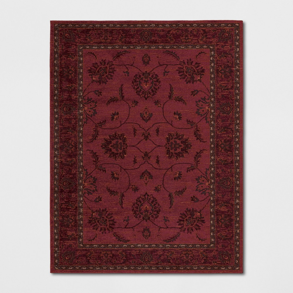 9'X12' Medallion Woven Area Rugs Red - Threshold