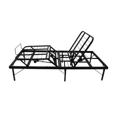 Twin XL Pragmedic Adjustable Homecare Bed Base Black - PragmaBed