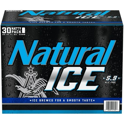 Natural Ice Beer - 30pk/12 fl oz Cans