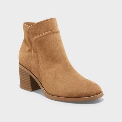 Women's Yara Heeled Ankle Boots - Universal Thread™