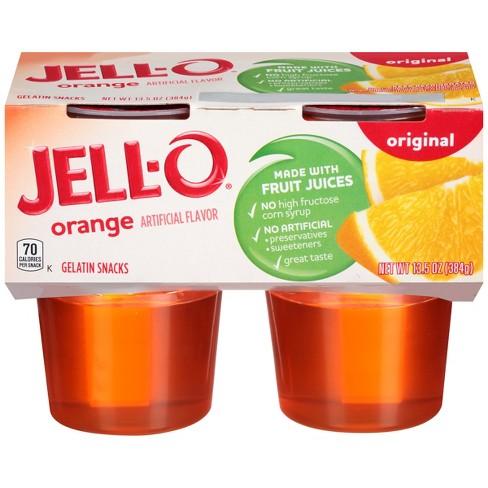 JELL-O Orange Gelatin - 4pk : Target
