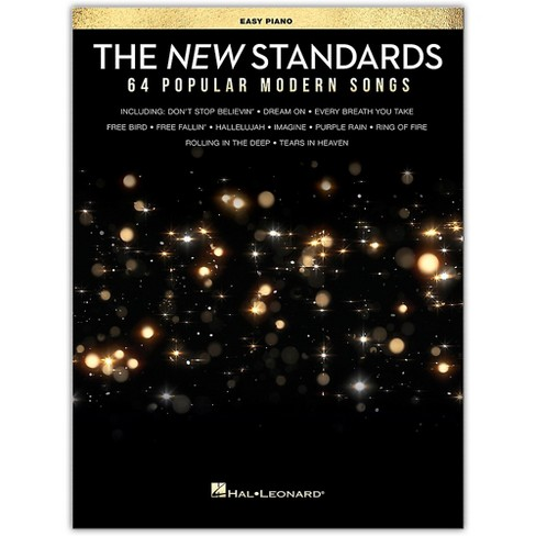 Hal Leonard The New Standards (64 Popular Modern Songs) Easy Piano Songbook - image 1 of 1