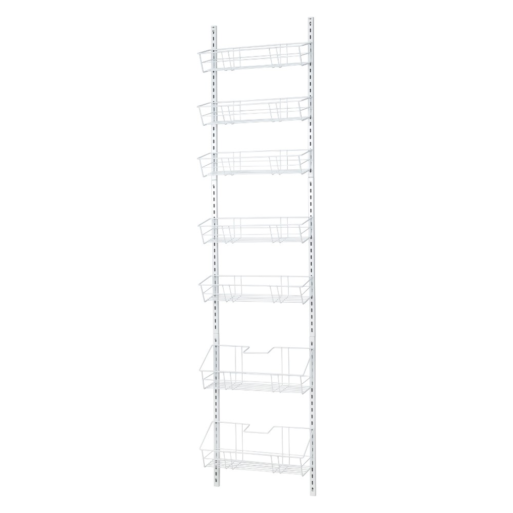 Image of Easy Move Adjustable Basket Organizer - ClosetMaid, White