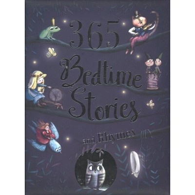 365 Bedtime Stories and Rhymes - (Hardcover)