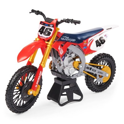 Supercross - 1:10 Scale Die Cast Collector Motorcycle - Justin Hill