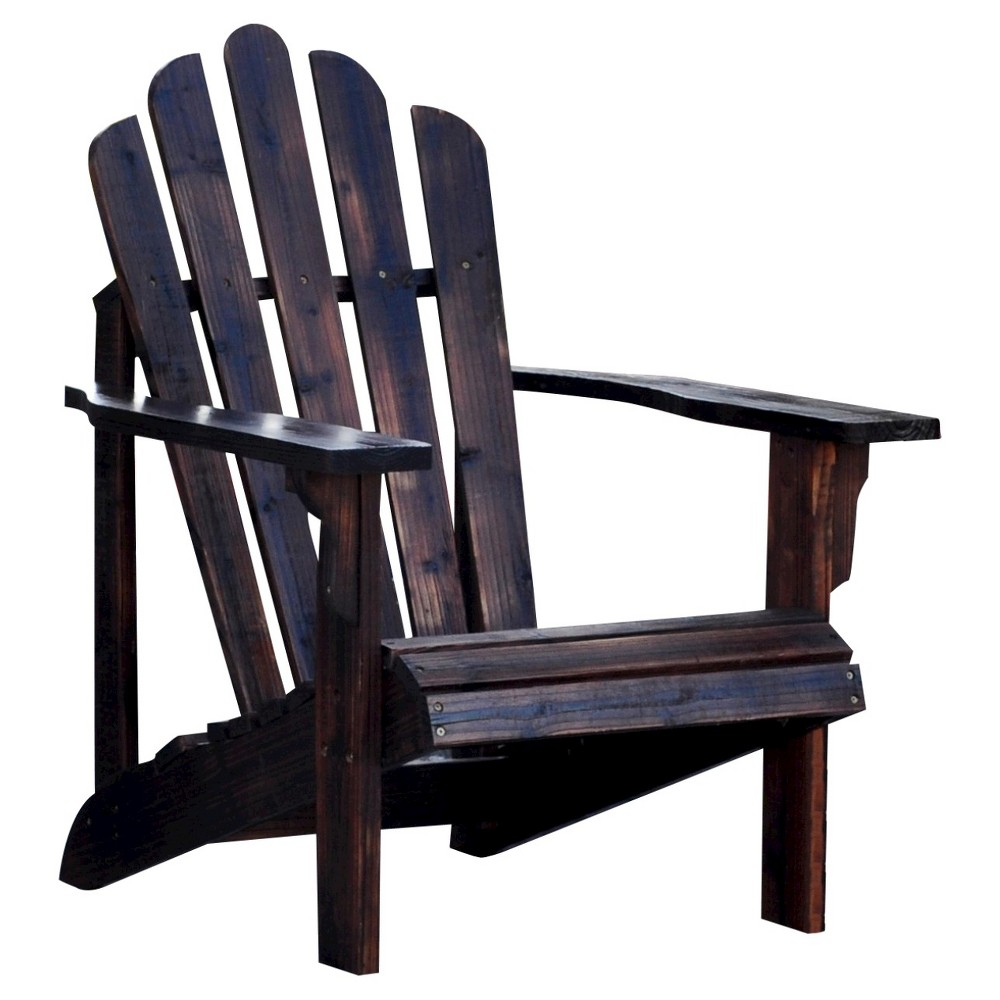 Image of Adirondack Chair - Brown - Shine Company
