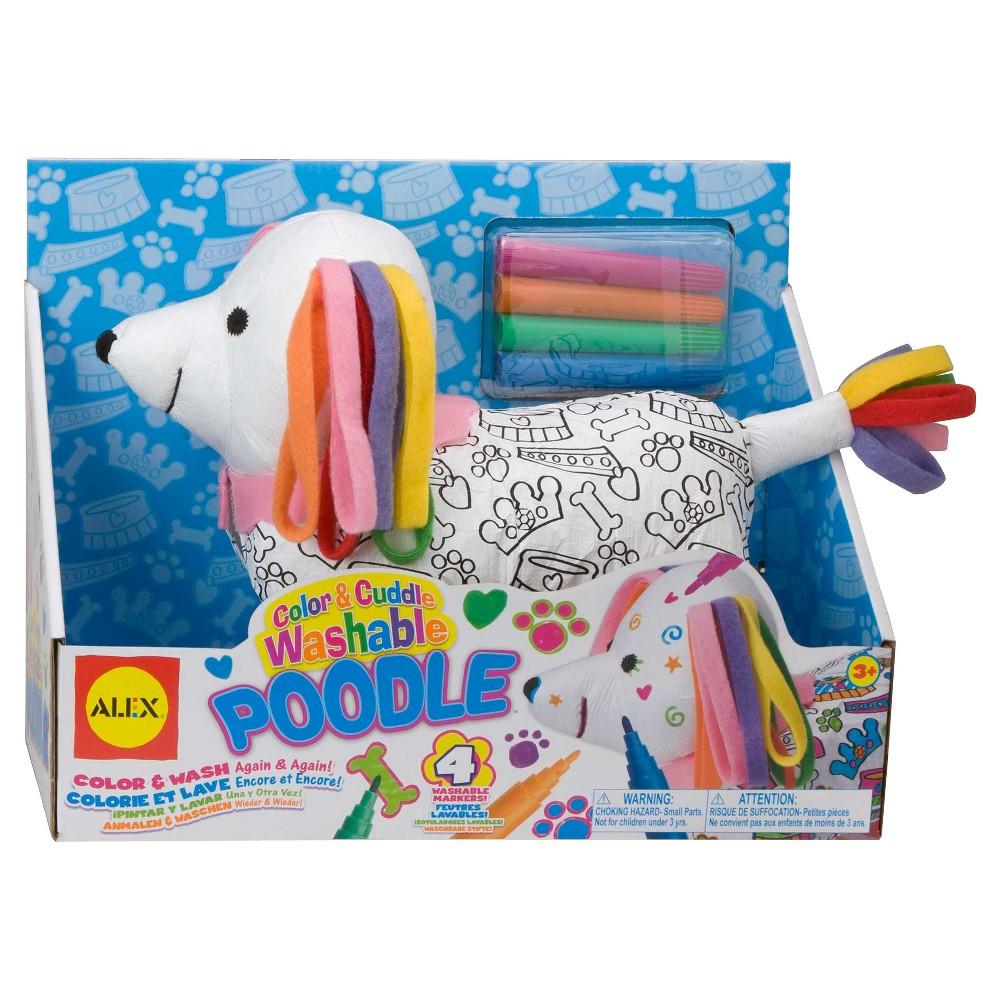 Alex Toys Color & Cuddle - Poodle