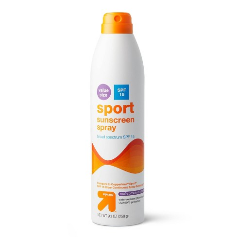 Continuous Sport Sunscreen Spray - up & up™ - image 1 of 3