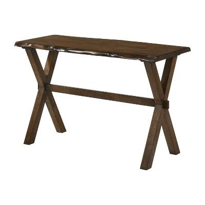 Coupla Cross X Leg Sofa Table Walnut - HOMES: Inside + Out