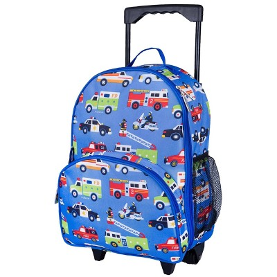 Wildkin Olive Kids' Rolling Carry On Suitcase - Heroes