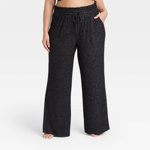 Women's Plus Size Perfectly Cozy Wide Leg Lounge Pants - Stars Above™ - image 1 of 3