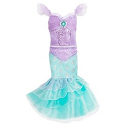 Girl's Little Mermaid Ariel Costume - 5/6 - Disney store, Women's, White