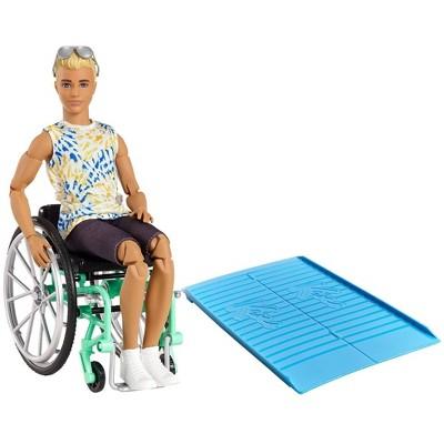 Barbie Ken Fashionistas Doll - Wheelchair & Tie-Dye Shirt