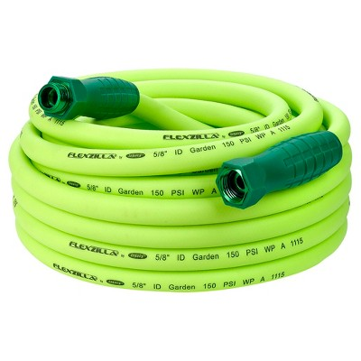 Garden Lead In Hose with Swivelgrip Connections 5/8  x 50' - Green - Flexzilla®